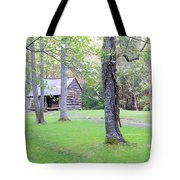 Dogwood Cabin Tote Bag
