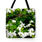 Dogwood In The Wind Tote Bag