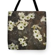 Dogwood Winter Tote Bag