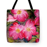 Dogwoods In Pink Tote Bag