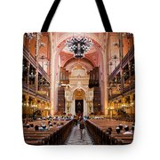 Dohany Street Synagogue In Budapest Tote Bag