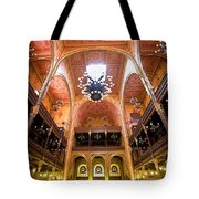 Dohany Synagogue In Budapest Tote Bag by Madeline Ellis
