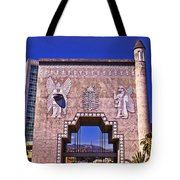 Dolbytheater Courtyard Tote Bag