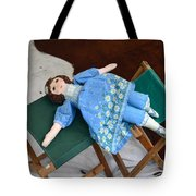 Doll And Camp Chairs 1800s Tote Bag