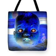 Doll Face Tote Bag