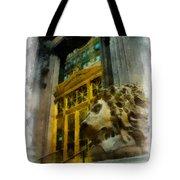 Dollar Bank Lion Pittsburgh Tote Bag
