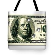 Dollar Drive By Tote Bag