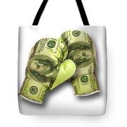 Dollar Gloves-2 Tote Bag