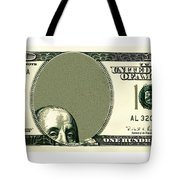 Dollar Peek A Boo Tote Bag