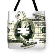 Dollar Puzzle-2 Tote Bag