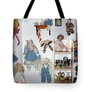 Dolls And Such Tote Bag