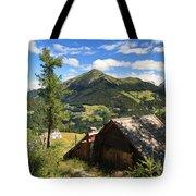 Dolomites - Cordevole Valley Tote Bag