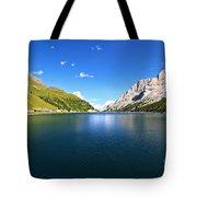Dolomites - Fedaia Lake  Tote Bag