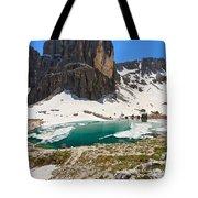 Dolomites - Pisciadu' Peak Tote Bag