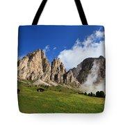 Dolomites In Badia Valley  Tote Bag