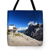 Dolomites -pale San Martino Group Tote Bag