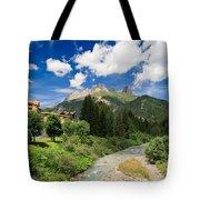 Dolomiti - Fassa Valley Tote Bag
