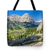 Dolomiti - High Badia Valley Tote Bag