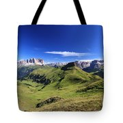 Dolomiti - High Fassa Valley Tote Bag
