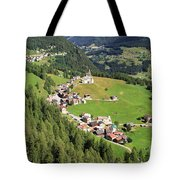 Dolomiti - Laste Village Tote Bag