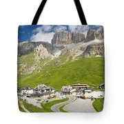 Dolomiti - Pordoi Pass Tote Bag