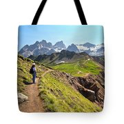 Dolomiti - Trekking In Val Ldi Fassa Tote Bag