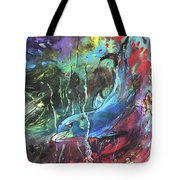Dolphin Dives Tote Bag