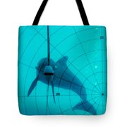 Dolphin Experiment Tote Bag