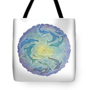 Dolphin Healing Tote Bag