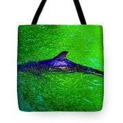 Dolphin In The Shallows Tote Bag