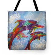 Dolphin Playjourney Tote Bag