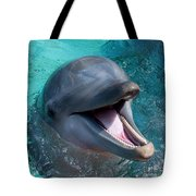 Dolphin Smile Tote Bag