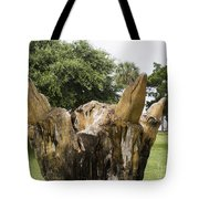 Dolphin Tree In Melbourne Beach Florida Tote Bag by Allan  Hughes