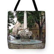Dolphinfountain - Aix En Provence Tote Bag