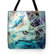Dolphins Art Tote Bag