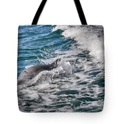 Dolphins Smile Tote Bag