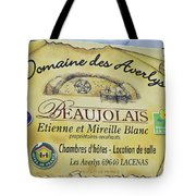 Domaine Des Averlys Tote Bag