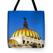 Dome Of Palacio De Las Bellas Artes Tote Bag