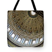 Dome Of St. Peter's Rome Tote Bag