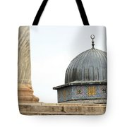 Dome Of The Rock Close Up Tote Bag