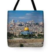 Dome Of The Rock In Jerusalem Tote Bag