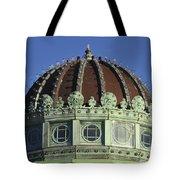 Dome Top Of Carousel House Asbury Park Nj Tote Bag