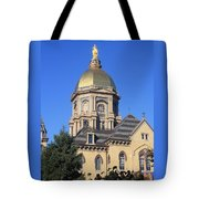 Dome Under An Autumn Sky Tote Bag