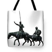 Don Quixote And Sancho Panza  Tote Bag