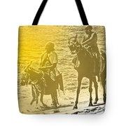 Don Quixote Rides Again Tote Bag