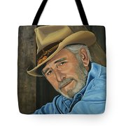 Don Williams Painting Tote Bag