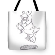 Donald Duck In Love Tote Bag
