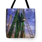 Done Shrimping At Tybee Island Tote Bag