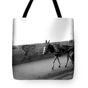 Donkey Cart In Marrakech Tote Bag