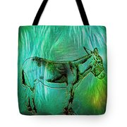 Donkey-featured In Nature Photography Group Tote Bag